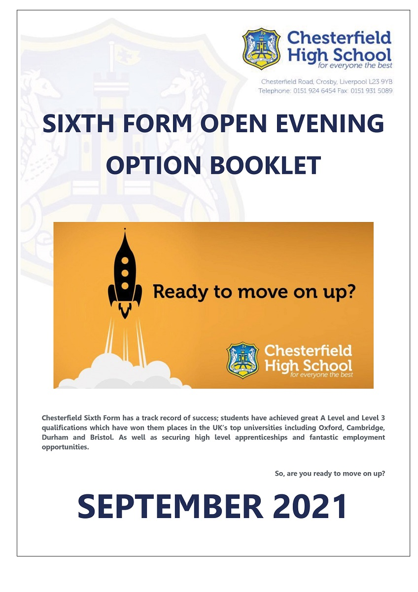 6th Form Open Evening Booklet 2020 -min