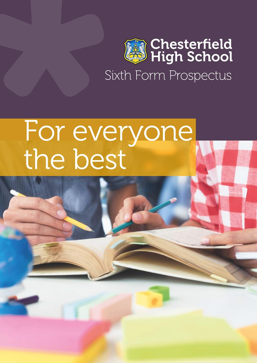 Chesterfield High School Sixth Form Prospectus 2021-22